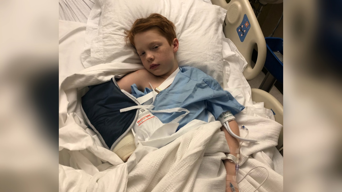 After rushing her son to the hospital with broken bones following a social media challenge one Wiregrass mom is pleading for parents to check on what their kids are doing on-line. (Source: Teri Smith)