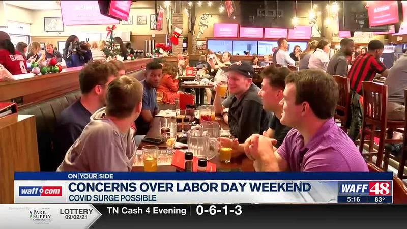 Labor Day festivities bring COVID-19 concerns