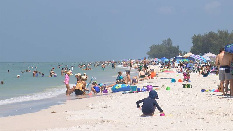 Last week, the National Weather Service released an alert that said people on Manatee County...