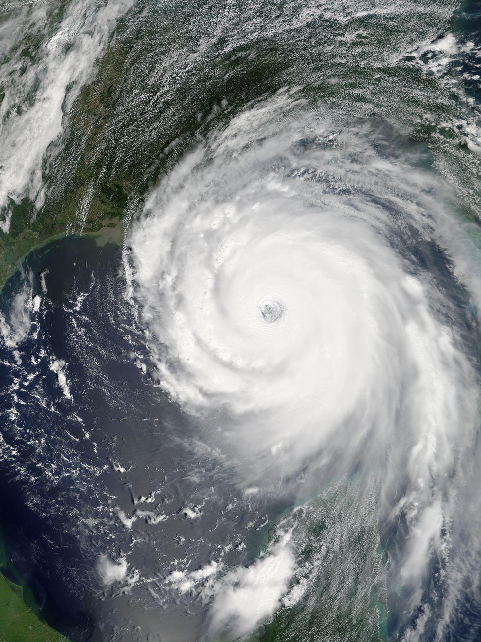 Hurricane Katrina on August 28, 2005