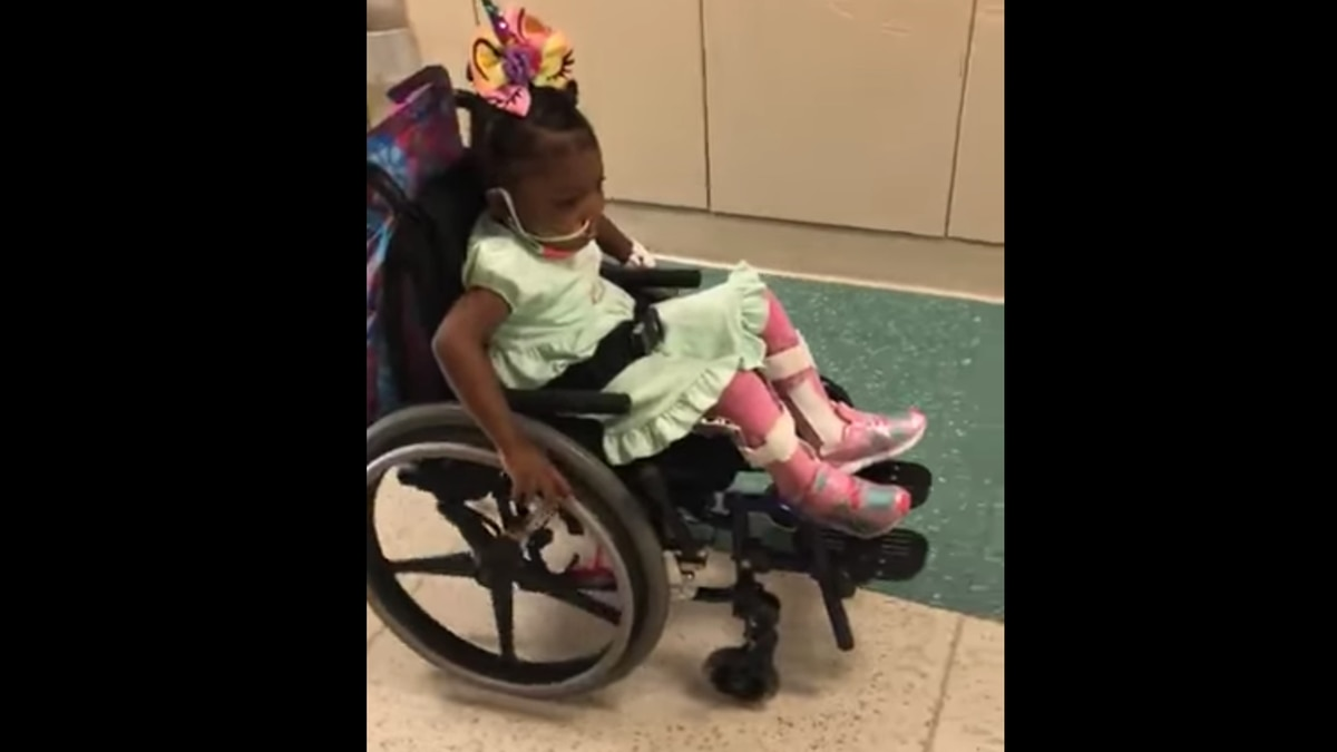 A 2-year-old girl accidentally shot by her 8-year-old brother is still a little miracle. Now,...