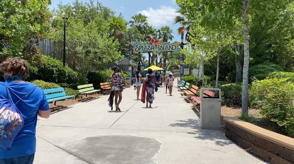 Wild Adventures reopened on Monday, following CDC safety guidelines.