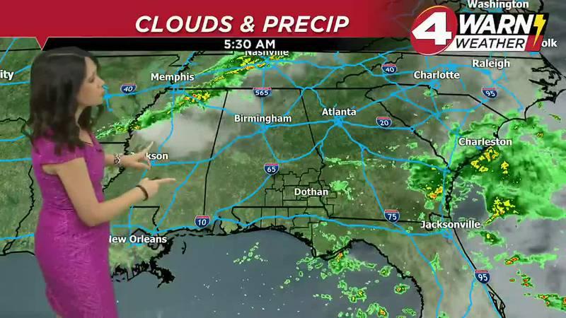 Meteorologist Amber Kulick Weathercast 10-25