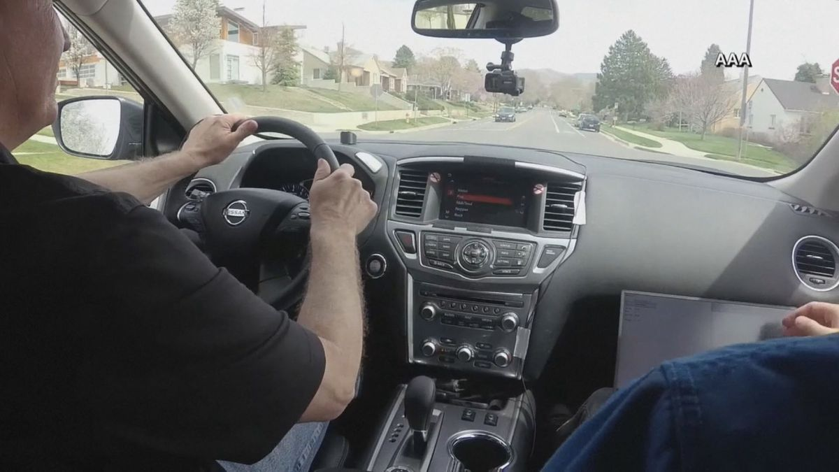 A new study from AAA suggests drivers, especially older drivers, have trouble multi-tasking when behind the wheel. (Source: NBC)