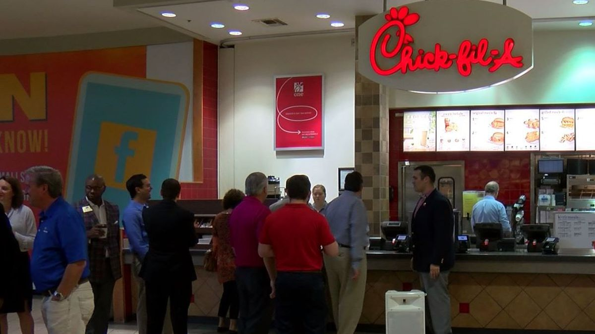 Over the last decade, Chick-fil-A has come under fire for its charitable donations to groups opposed to same-sex marriage. (Source: WSFA)
