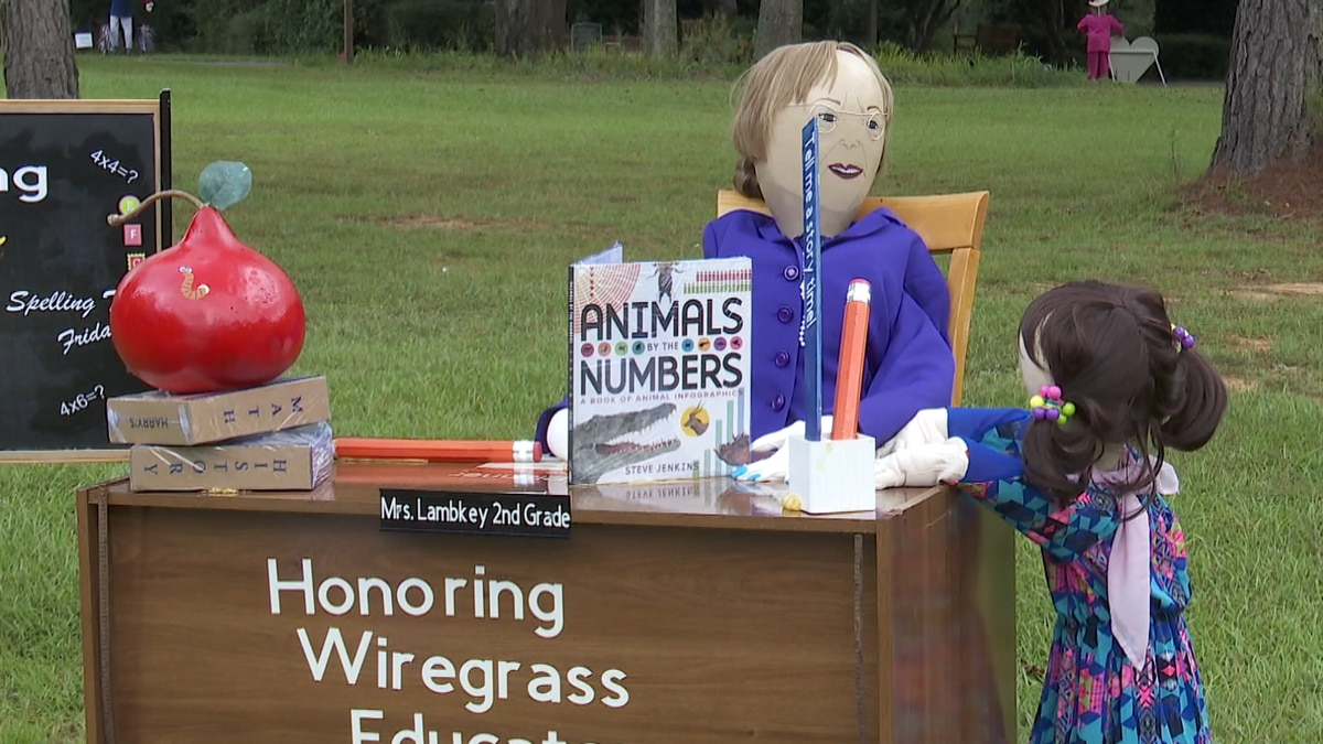 """This years Scarecrows in the Garden theme is """"Every day is a holiday,"""" highlighting national..."""