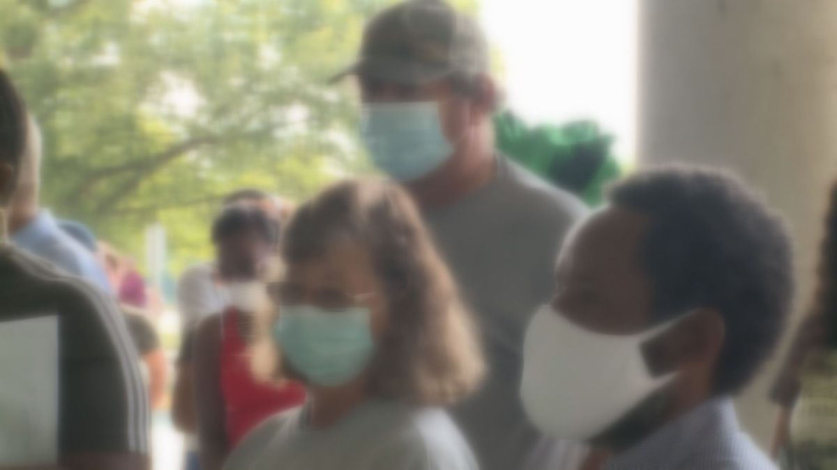Now, CDC data shows cloth face masks protect others as well as yourself.