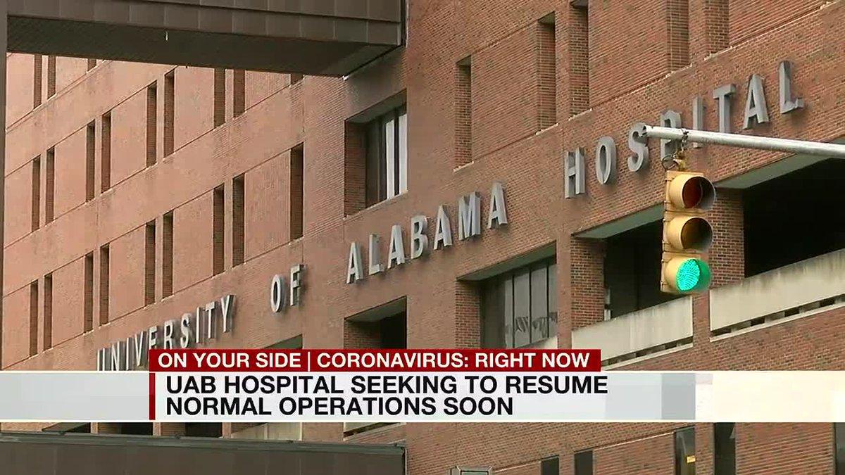 UAB Hospital seeking to resume normal operations soon