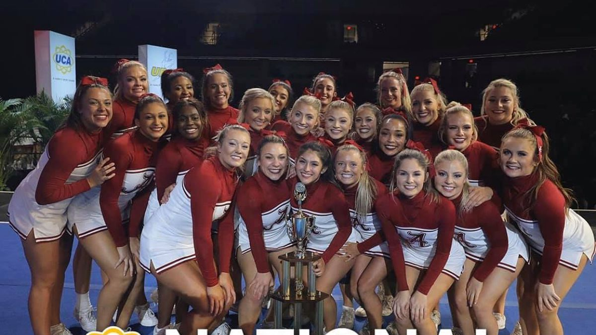 Roll Tide! Alabama Cheerleading took home its second Division 1A all-girl national championship in program history Sunday at the 2020 UCA & UDA College Cheerleading and Dance Team National Championship. Alabama placed second in the co-ed category. (Source: Alabama Athletics / WBRC)