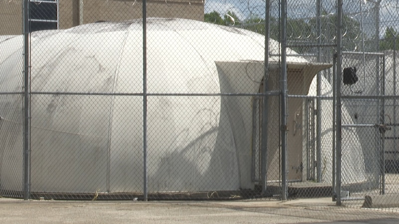 The domes that sit next to the Geneva County Courthouse have raised some controversy for well...