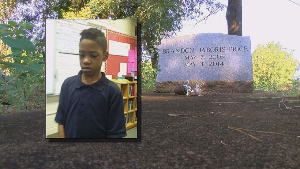 Records show Brandon Price, 10, died in Albany on May 3, 2014.