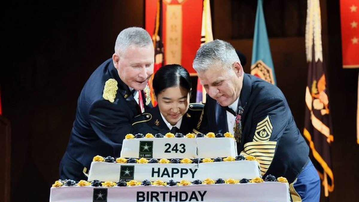 Eighth Army hosted the 243rd Army Birthday Ball June 1 at the SINTEX Convention Center in...