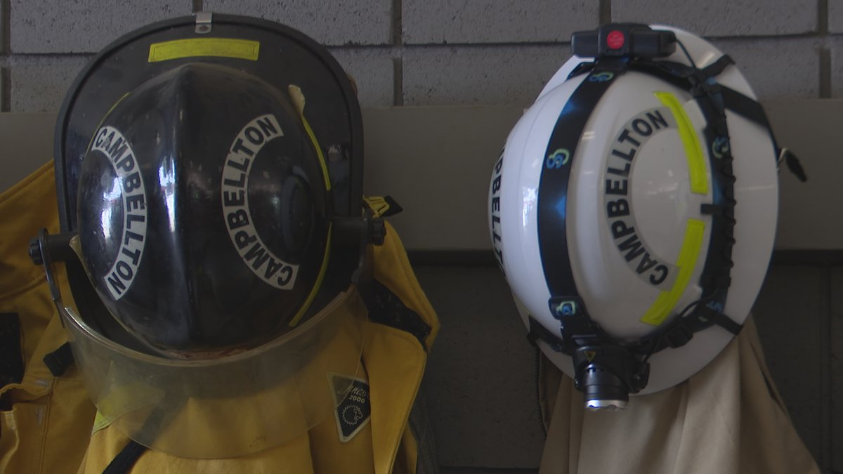The Campbellton Volunteer Fire Department is scheduled to have a record year, and their...