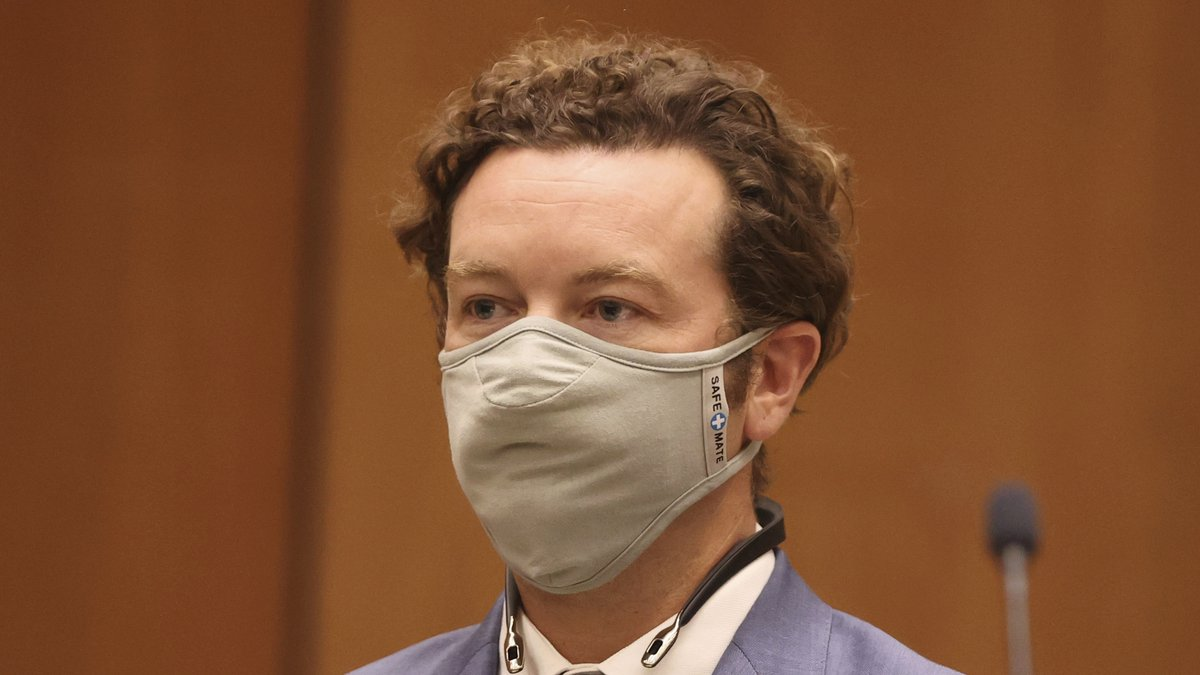 FILE - Actor Danny Masterson appears at his arraignment in Los Angeles Superior Court in Los...