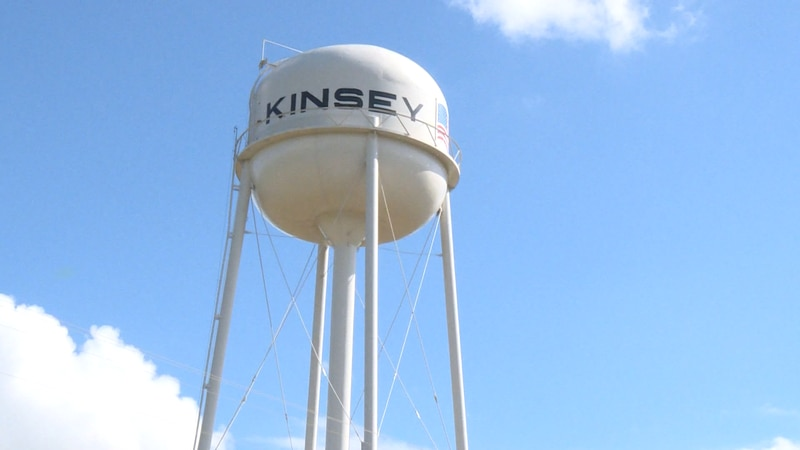 The town of Kinsey