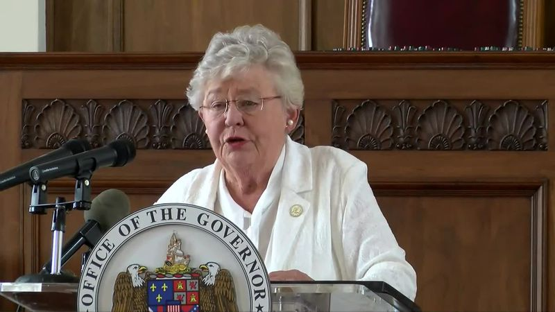 Alabama Governor Kay Ivey speaks at a July 29, 2020 press conference.