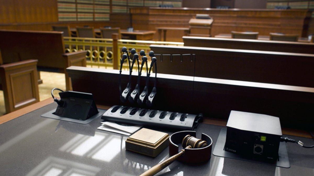 This Jan. 14, 2013 file photo shows a gavel sitting on a desk inside the Court of Appeals at...