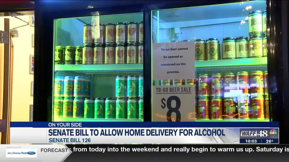 A new Senate Bill could allow home delivery alcohol sales
