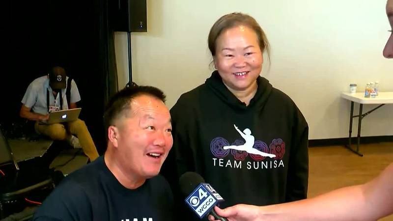 Suni Lee's parents comment on their daughter's gold win at the Olympics and the challenge of...