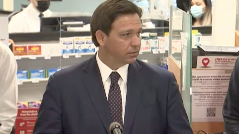 Florida Gov. Ron DeSantis  suggests that state will likely start with classroom teachers, law...