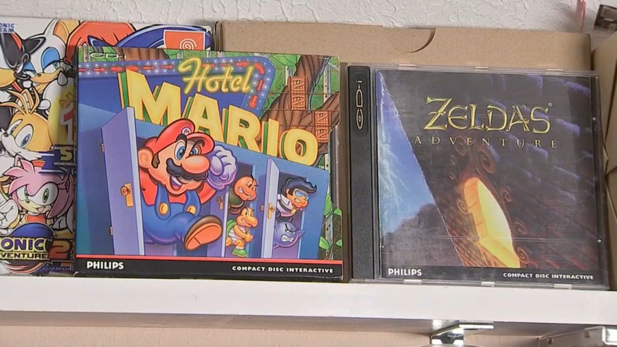The Richmond man's 20,193 video games comprise the world's largest video game collection, as...