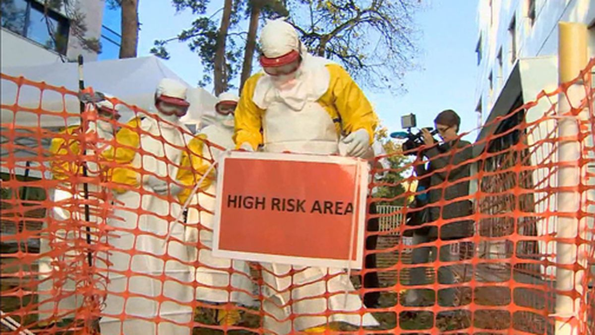 A new study suggests climate change raises the risk of more Ebola outbreaks. (Source: UNTV/CNN)