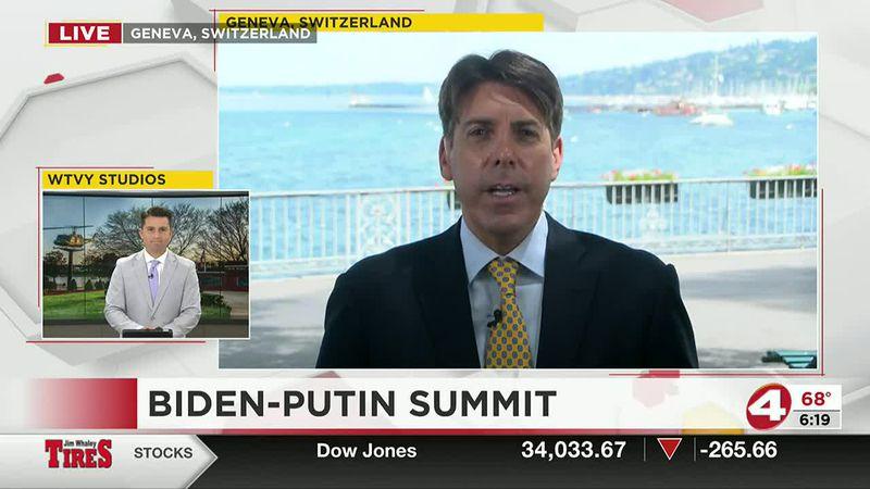 Biden-Putin Summit Interview (WTVY)
