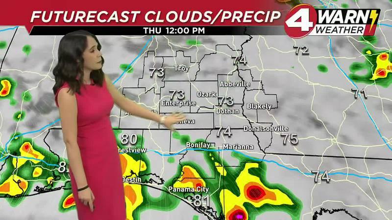 Meteorologist Amber Kulick Weathercast 9-16