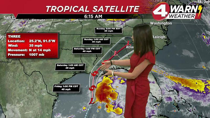 Meteorologist Amber Kulick Weathercast 6-18