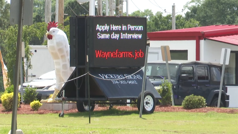Wayne Farms Dothan facility is looking to fill 280 positions. They tell News 4 they need 1,200...