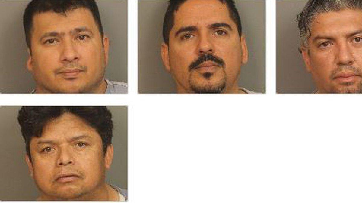 4 men arrested in drug investigation