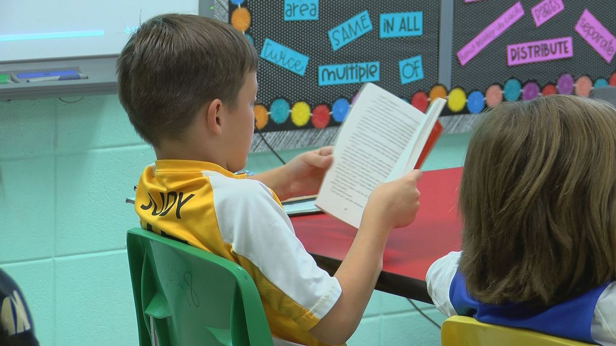 For the first time, Mississippi 4th graders scored higher than the nation's average in math and tied the average in reading among public schools. (Source: WLOX)