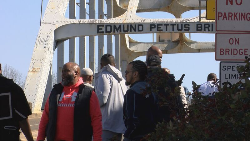 Families from across the country came to Selma to pay tribute.