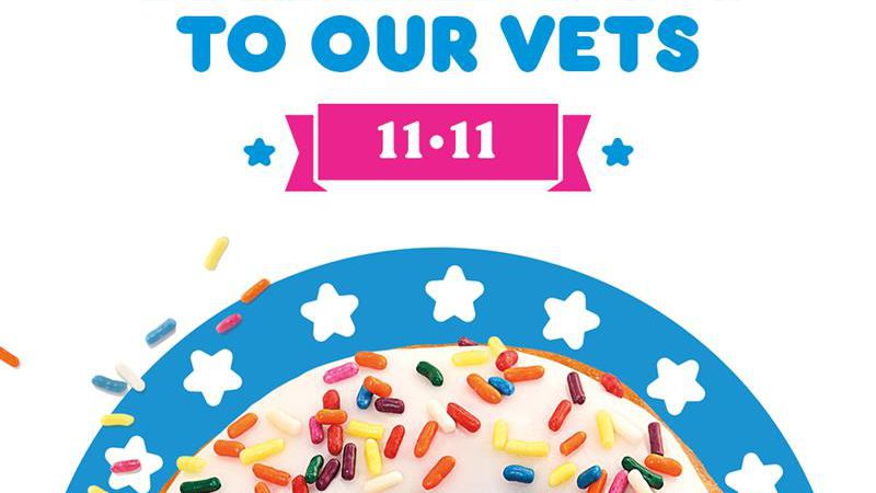 On Wednesday, November 11, veterans and active duty military are invited to participating...