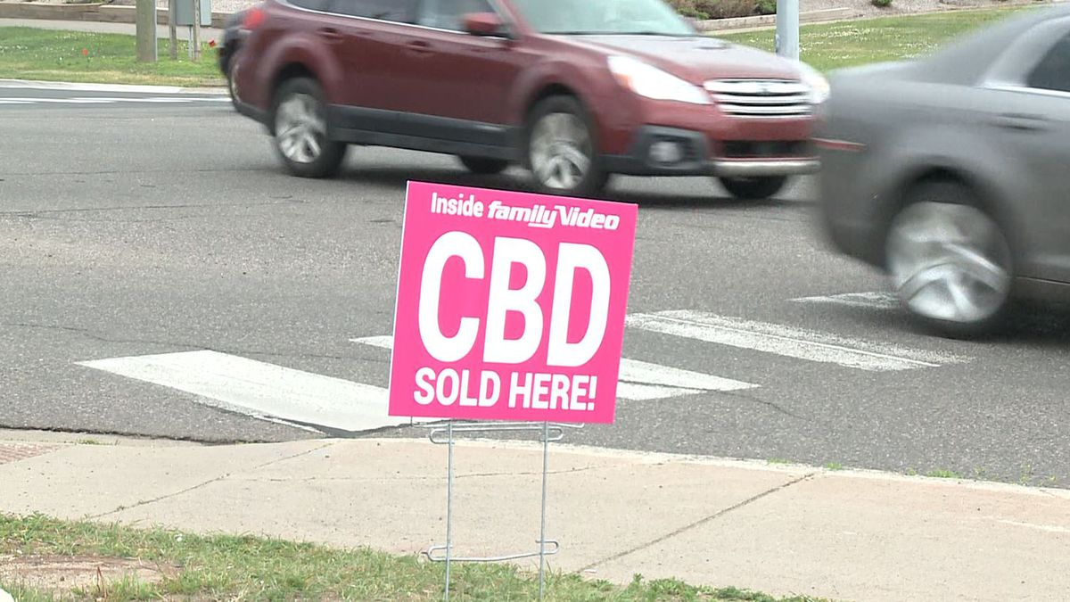 """Around Marquette, signs advertising cannabidiol, OR """"CBD"""" are popping up outside businesses. Even Family Video sells CBD products."""