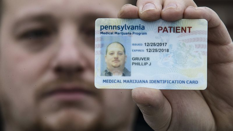 In this Wednesday, Jan. 10, 2018 photo Phil Gruver poses for a photograph with his Pennsylvania...