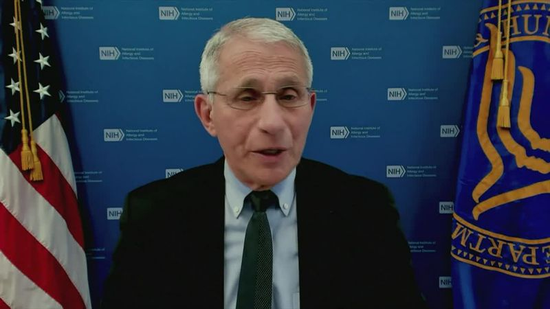 Dr. Anthony Fauci said there's nothing wrong with an individual who has a certain level of risk...
