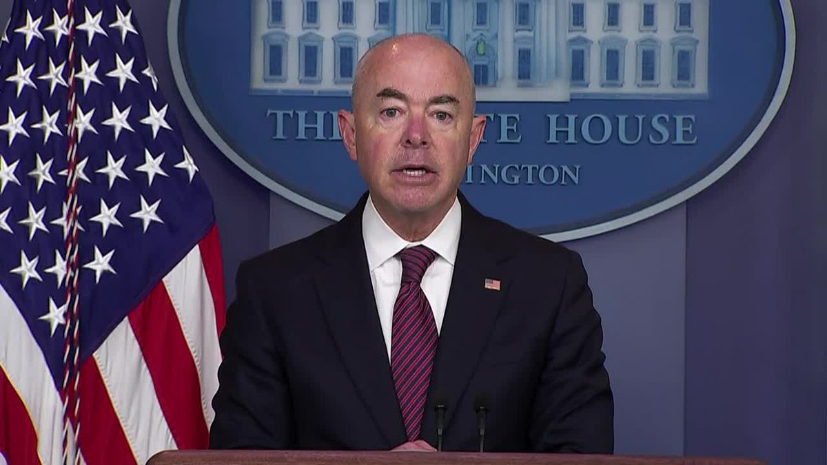Homeland Security Secretary Alejandro Mayorkas issued guidance Tuesday saying the agency would...