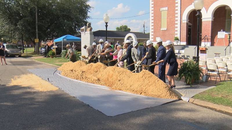 A groundbreaking ceremony for restorations and repairs at Brown Chapel AME Church in Selma was...