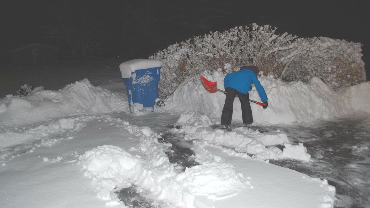 They're using shovels, clearing snow from driveways and helping the elderly, disabled,...