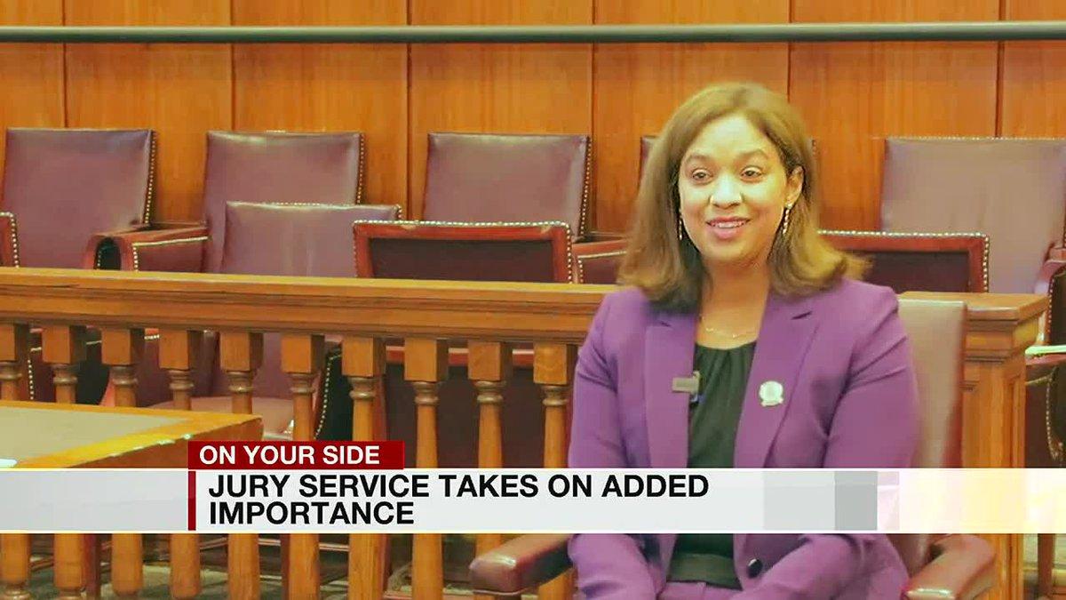 Alabama Judge on jury duty