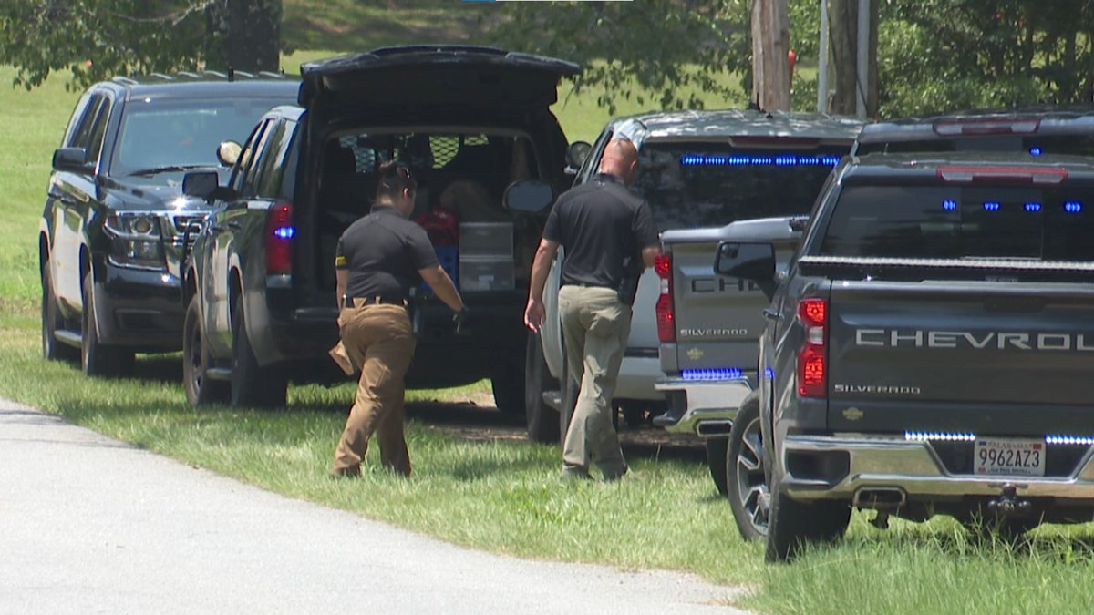 A man died Saturday when officers responding to a burglary call tased him, Houston County...