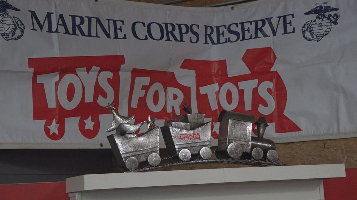 Toys For Tots preparations in Warren County