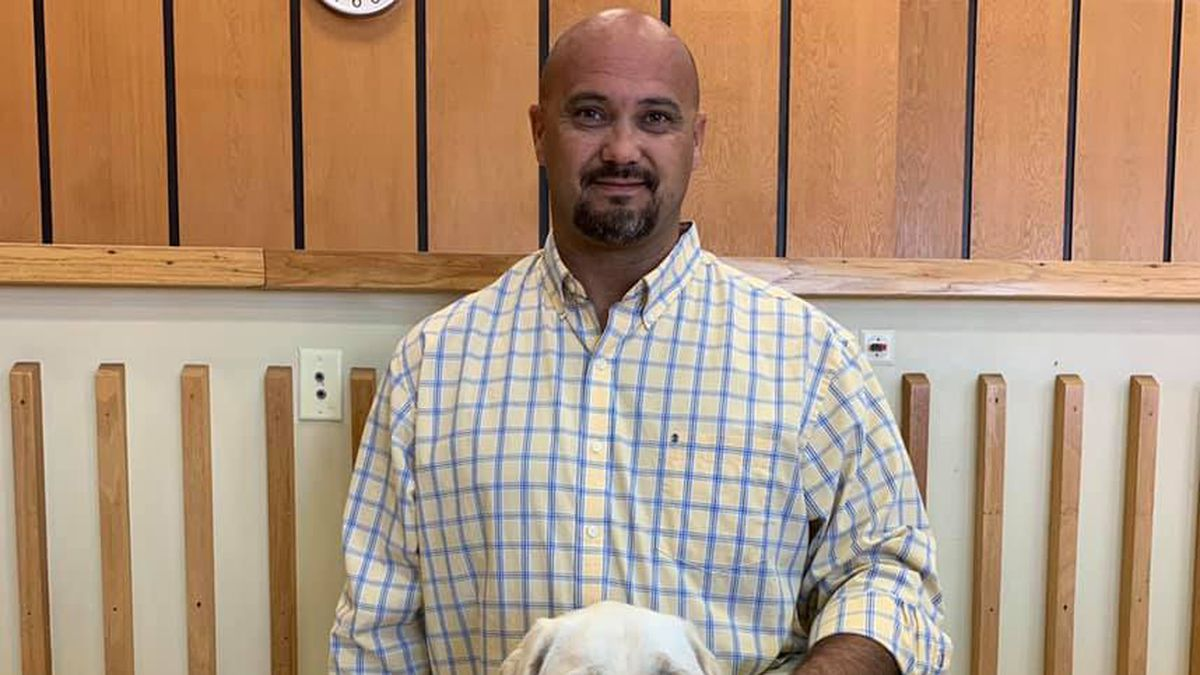 Wendell, under the leadership of his handler, Shawn Bentley, will assist children who are victims and witnesses of crime, abuse and neglect in Covington and surrounding counties.