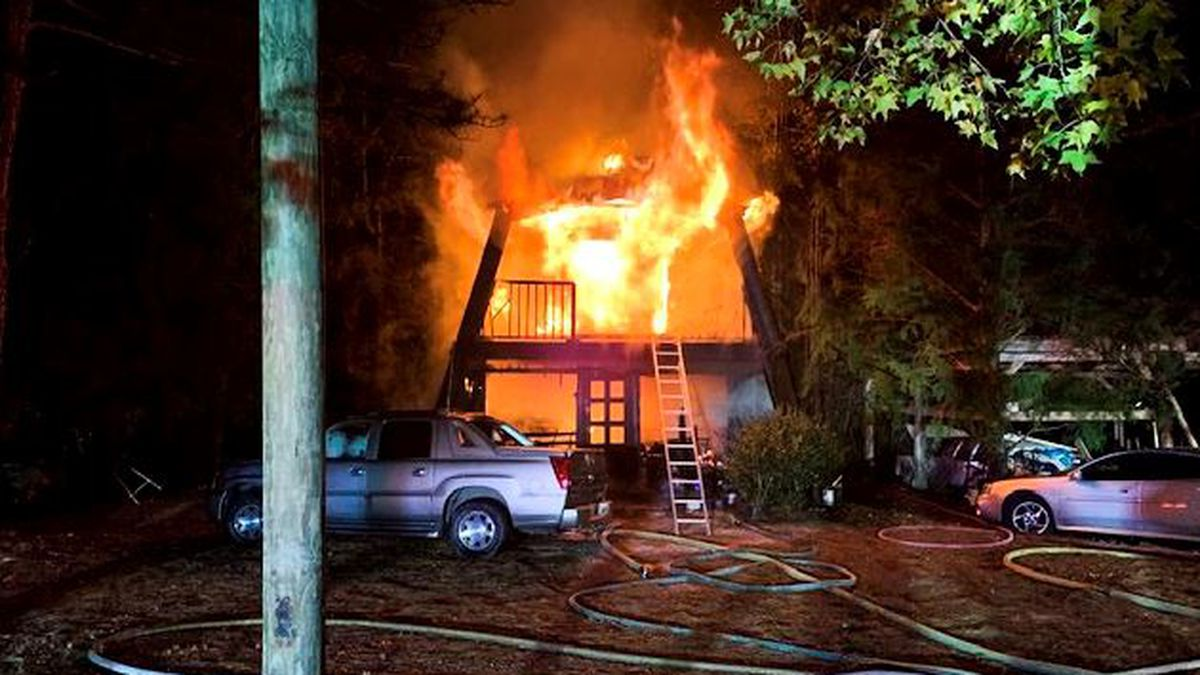 A $5,000 reward is being offered leading to the arrest of a suspect in a fire that destroyed a three-story home in Walton County. (WJHG/WECP)