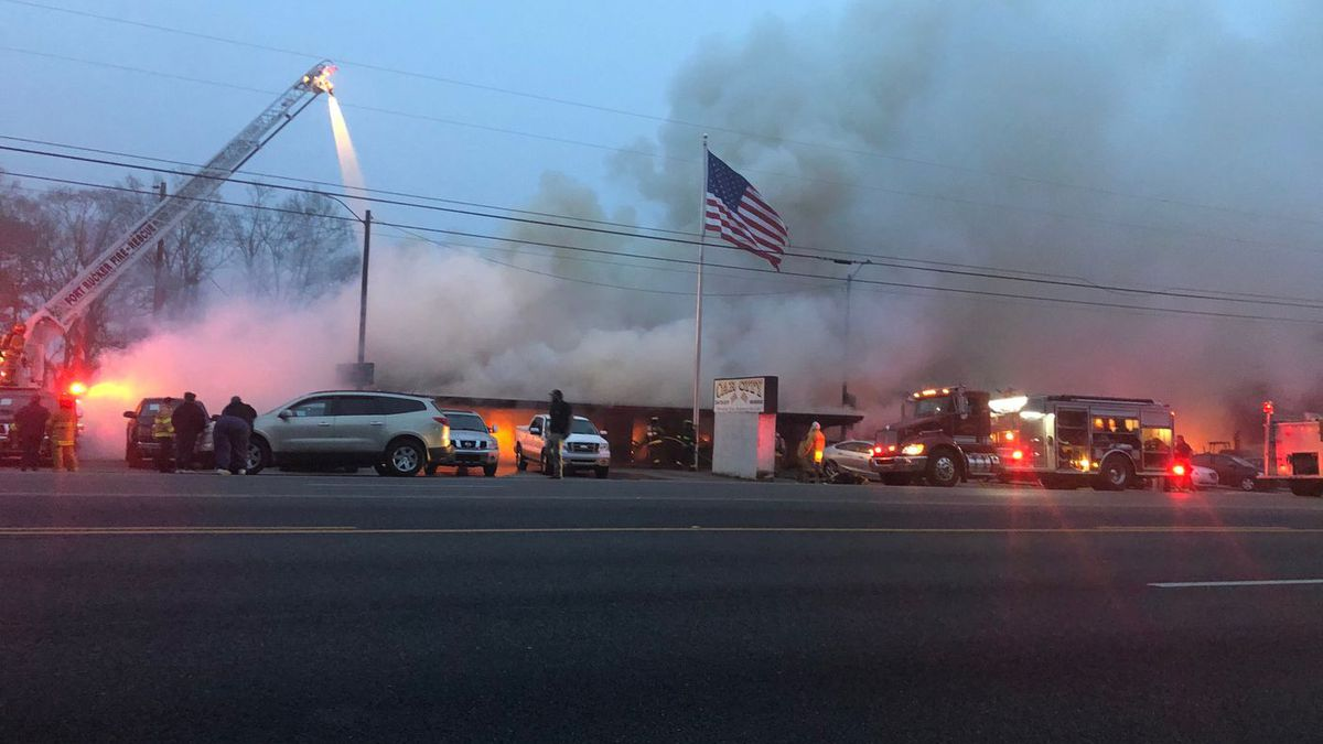 Large fire at Brundidge auto sales business under investigation.