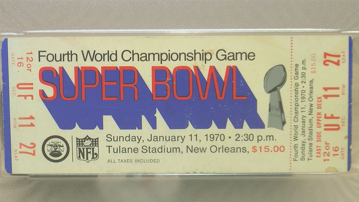 Gulfport native finds Super Bowl IV tickets in parents' attic (Source: WLOX)