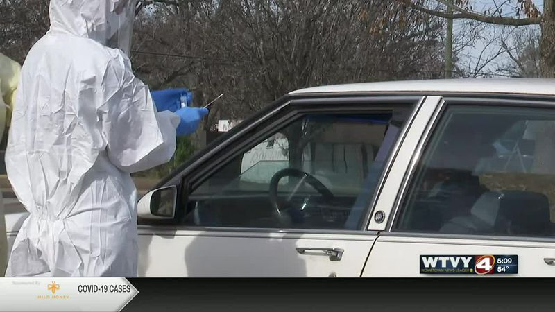 local health department does drive thru testing
