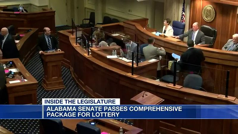Alabama Senate passes lottery, gaming legislation