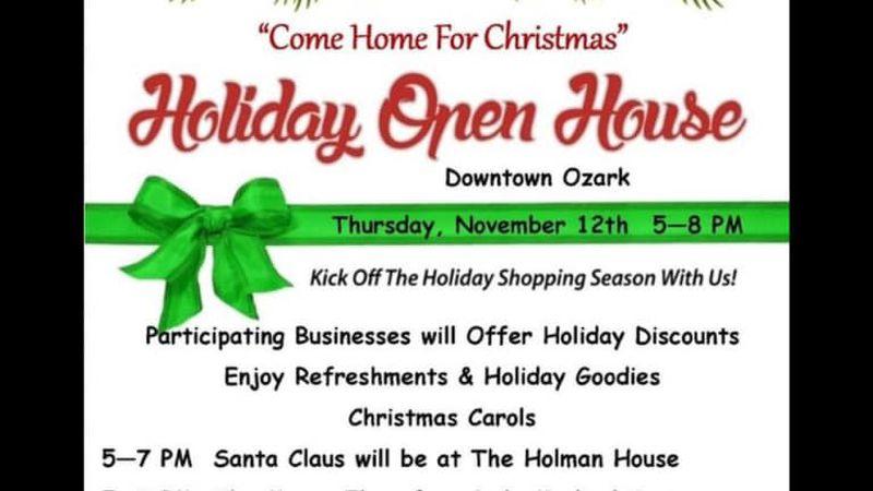 Ozark Holiday Open House